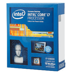 CPU Intel Core i7-5960X (3.0Ghz, 20MB L3 Cache, Socket 2011-v3, 5GT/s DMI)