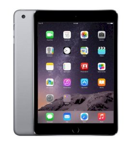 Apple iPad Mini 3 Retina 16GB iOS 8.1 WiFi 4G Cellular - Space Gray
