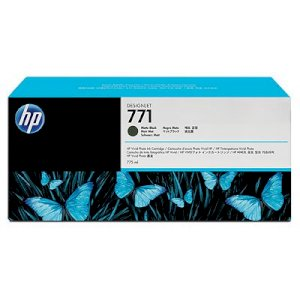 HP 771 775-ml Matte Black Designjet Ink Cartridge (CE037A)