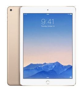 Apple iPad Air 2 (iPad 6) Retina 64GB iOS 8.1 WiFi 4G Cellular - Gold