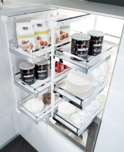 Bộ phụ kiện Kesserboehmer pantry pull- out