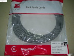 ADC Krone 6451 5 9XX-30B  Cat6 UTP Patch Cord 568B-3m (XX=94:Grey, XX=39:Blue, XX=97:Red)