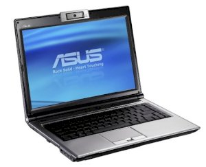 Asus F8S (Intel Core 2 Duo T5550 1.83GHz, 2GB RAM, 160GB HDD, VGA Nvidia GeForce GO 9300GS, 14.1 inch, Windows 7 Home Premium)