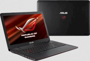 Asus G551JK-CN280D (Intel Core i5-4200H 2.8GHz, 8GB RAM, 1TB HDD, VGA NVIDIA GeForce GTX 850M, 15.6 inch, PC DOS)