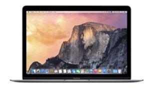 Apple The New Macbook (MJY32SA/A) (Early 2015) (Intel Core M-5Y31 1.1GHz, 8GB RAM, 256GB HDD, VGA Intel HD Graphics 5300, 12 inch, Mac OSX 10.6 Leopard) - Space Gray