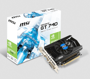 MSI N740-1GD5 (NVIDIA GeForce GT 740, 1024MB GDDR5, 128 bits, PCI Express x16 3.0)