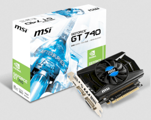 MSI N740-2GD5 (NVIDIA GeForce GT 740, 2048MB GDDR5, 128 bit,  PCI Express x16 3.0)
