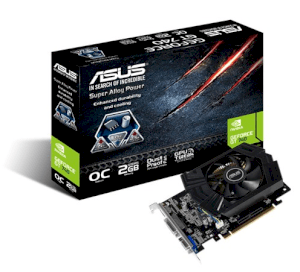 ASUS GT740-OC-2GD5 (NVIDIA GeForce GT 740, 2GB GDDR, 128 bits, PCI Express 3.0)