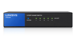 Linksys LGS105 5-Port Desktop Gigabit Switch