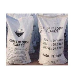 NaOH Cautic soda Flakes 99% (Xút hạt)