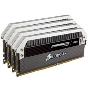 RAM Corsair DDR4 (4 X 8GB) 32GB bus 2800MHz - CMD32GX4M4A2800C16 - Dominator Platinum with airflow