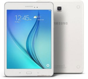 Samsung Galaxy Tab A 8.0 LTE (SM-T350) (Quad-Core 1.2GHz, 2GB RAM, 32GB Flash Drive, 8.0 inch, Android OS v5.0) - White