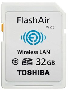 Thẻ nhớ Toshiba FlashAir W-03 SDHC 32GB Wifi