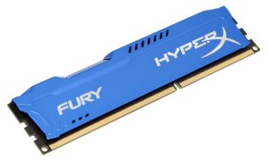 Kingston HyperX Fury Blue (HX316C10FB/8) - DDR3 - 8GB - Bus 1600MHz - PC3 12800 CL10 Dimm