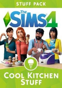 Game The Sims 4 Cool Kitchen Stuff (PC)