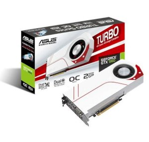 Asus TURBO GTX960 OC 2GD5 (NVIDIA GeForce GTX 960, 2GB GDDR5, 128 bit, PCI Express 3.0)