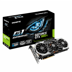 GIGABYTE GV-N98TG1 GAMING-6GD (NVIDIA GeForce GTX 980 TI, 6GB GDDR5, 384 bit, PCI-E 3.0)