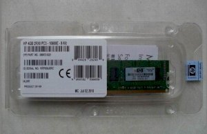 HP 500672-B21 4GB - DDR3 - Buss 1333Mhz - PC3-10600 Dual Rank x8 Unbuffered CAS-9 Memory Kit