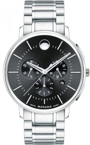 MOVADO Movado Men's TC Stainless Steel Chronograph 0606886, 44 mm