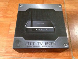 Android TV smart box MXQ M10 cao cấp Ram2G Chip812