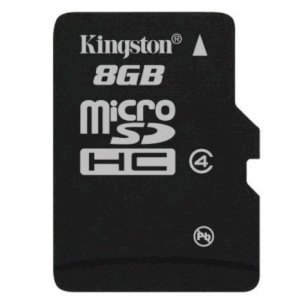 Thẻ nhớ Kingston MicroSD 8GB Class 4