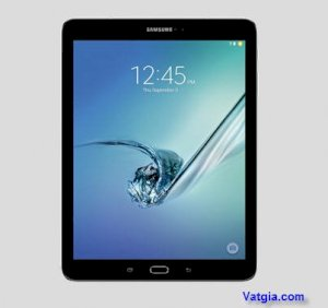 Samsung Galaxy Tab S2 9.7 (SM-T810) (Quad-Core 1.9 GHz & Quad-Core 1.3 GHz, 3GB RAM, 32GB Flash Driver, 9.7 inch, Android OS v5.0.2) WiFi Model Black