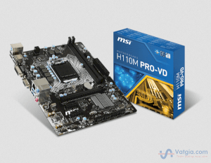 Mainboard MSI H110M PRO-VD ( Intel H110 Chipset. Socket 1151)