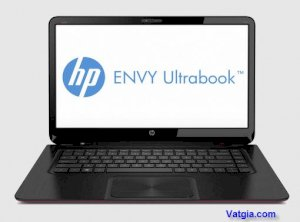 HP Envy 4-1031tx (B6U18PA) (Intel Core i5-3317U 1.7GHz, 4GB RAM, 352GB (32GB SSD + 320GB HDD), VGA ATI Radeon HD 7670M, 14 inch, Windows 7 Professional 64 bit)
