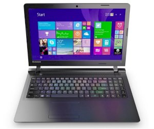 "Laptop Lenovo IdeaPad 100-14IBY-80MH008GVN (Intel Celeron N2840 2.58GHz, 2GB RAM, 500GB HDD, VGA Intel HD Graphics, 14.0"", Windows 10)"