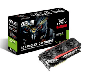 ASUS STRIX-GTX980TI-DC3-6GD5-GAMING (NVIDIA GeForce GTX 980 TI, 6GB GDDR5, 384-bit, PCI Express 3.0)