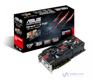 Video Card ASUS R9280X-DC2-3GD5 (AMD Radeon R9 280X, GDDR5 3GB, 384bit, PCI-E 3.0)