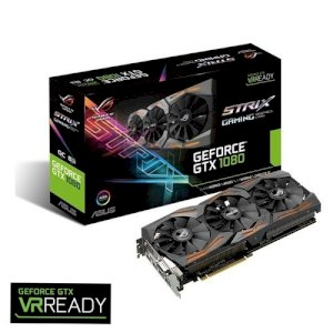 VGA ASUS STRIX-GTX1080-A8G-GAMING (NVIDIA GeForce GTX 1080, GDDR5 8GB, 256 bit, PCI-E 3.0)