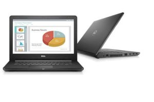 Dell Vostro 14-3468 (K5P6W1) (Intel Core i5-7200U 2.5GHz, 4GB RAM, 1TB HDD, VGA ATI Radeon R5 M420, 14 inch, Windows 10 Home)