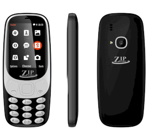 Zip Mobile Zip 1.8-1 Đen