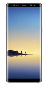 Samsung Galaxy Note 8 128GB Midnight Black - EMEA
