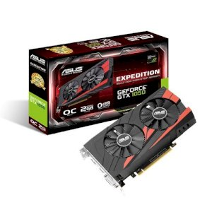 VGA ASUS EXPEDITION GTX 1050 OC 2GB GDDR5 (EX-GTX1050-O2G)