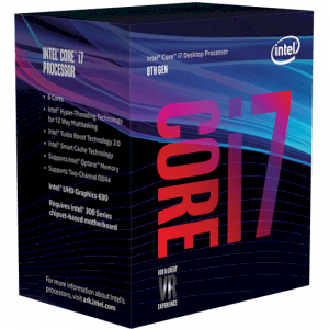 Intel Core i7-8700K (3.7GHz, 12MB L3 Cache, Socket 1151v2, 8GT/s DMI3)