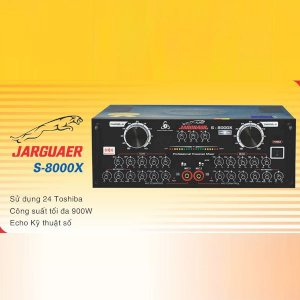 Amplifier Jarguar S-8000X