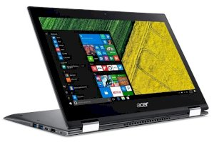 "Máy tính laptop Laptop Acer Spin 5 SP513-52N-53MT NX.GR7SV.001(Intel Core i5-8250U Processor/8GB DDR4/2400Mhz Onboard/VGA Intel UHD Graphics 620/256GB SSD (M.2 2280)/13.3"" Multi-touch FHD(1920 x 1080) IPS/Xoay 360o/Windows 10 Home SL 64-Bit)"