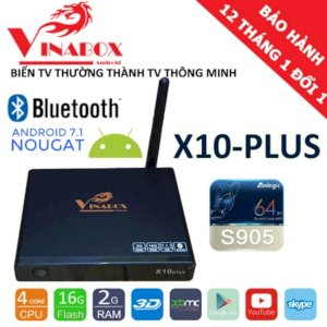 Vinabox X10 Plus Ram 2GB/16Gb/Android 7.1.1 - Model 2018