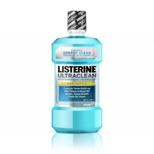 Nước súc miệng Listerine Ultraclean Cool Mint Antiseptic Mouthwash (1.5L) S000380