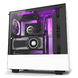 NZXT H500i White – Black (Mid – Tower)