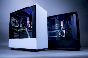 NZXT H500 White – Black (Mid – Tower)
