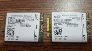 Dell Wireless DW5808e 4G LTE EM7355 WWAN Module Card  PN01C