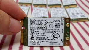 Card wwan 3G Dell Wireless DW5570 - MC8805 Support Dell E7240