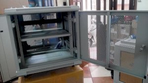 Tủ mạng NCC 10U sâu 600mm - NCC Rack Systems 10U Series 600mm ( NCC-10U600)