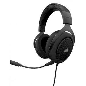 Tai nghe Corsair HS50 Stereo Gaming Carbon