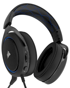 Tai nghe Corsair HS50 Stereo Gaming Blue