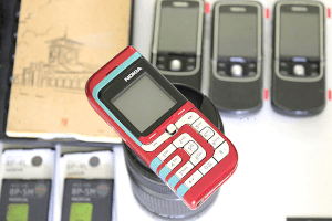 Nokia 7260 Red