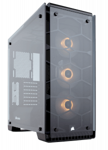 Corsair crystal series 570X RGB CC-9011098-WW steel  tempered glass ATX mid tower Case